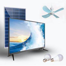 Télévision à recharge solaire